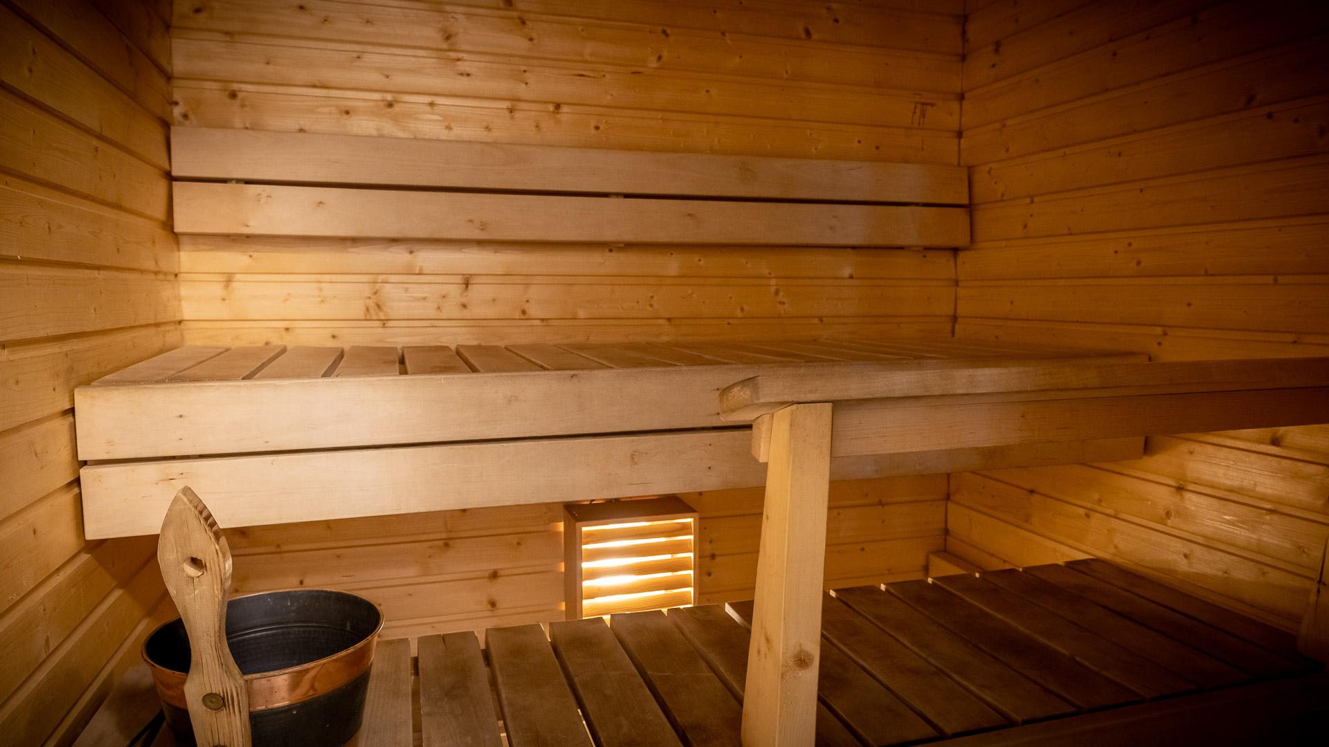 Huoneistohtelli Jämin Lumihovi sauna