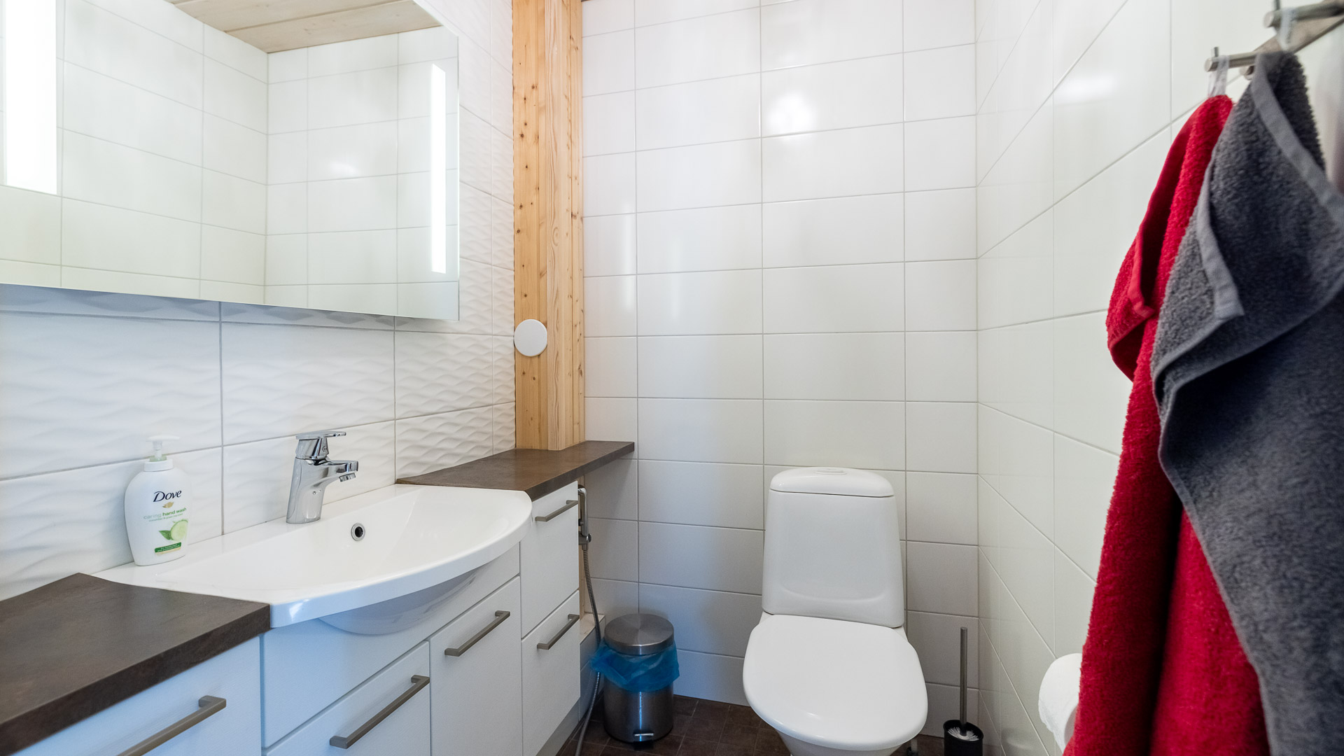 Mökki Jämi Harjula wc