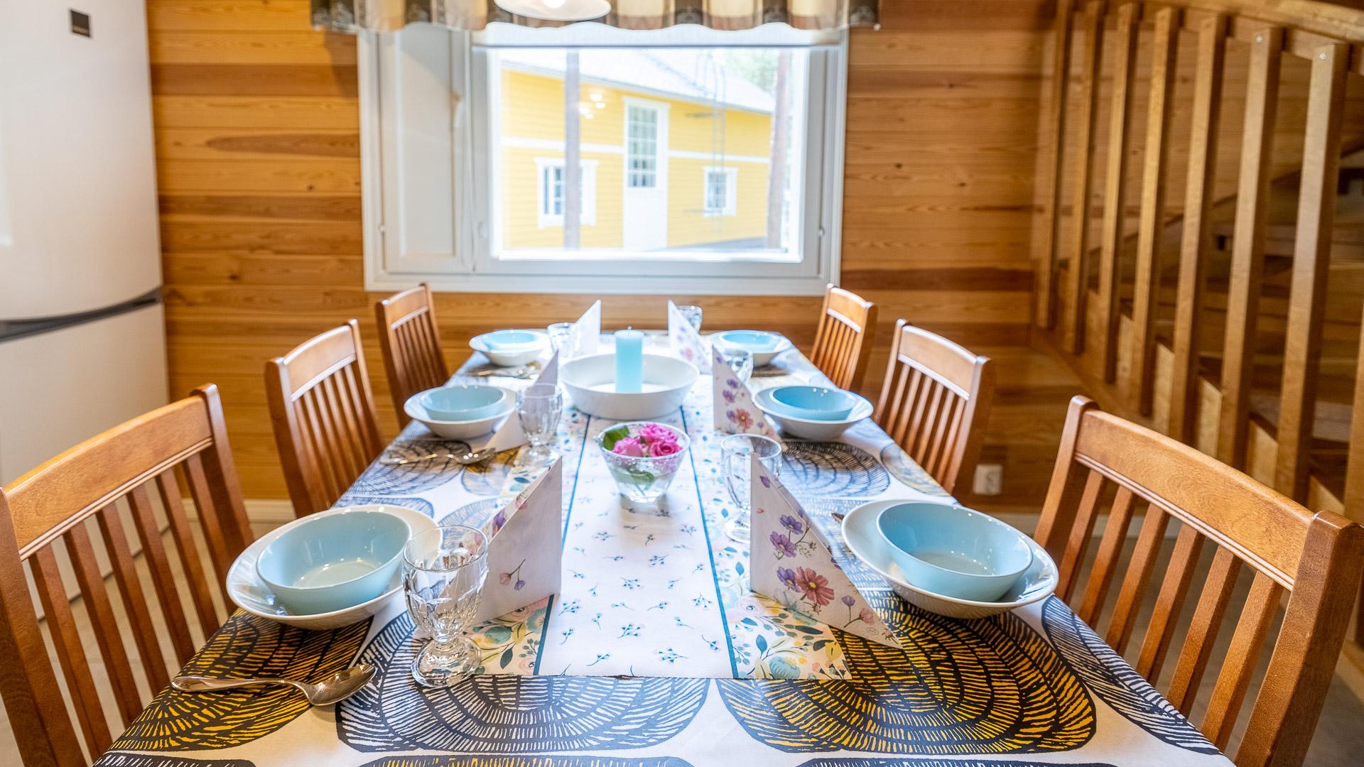 Mökki Lumikki keittiö Mäntykankaantie 2D Jämijärvi