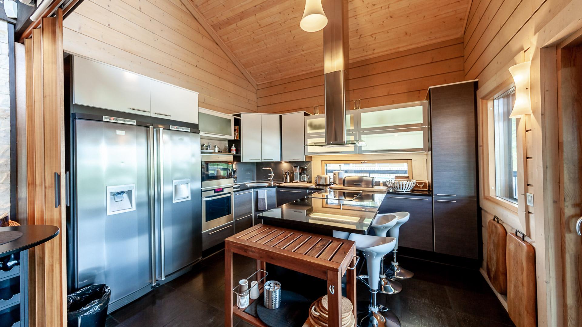 Villa Jami keittiö