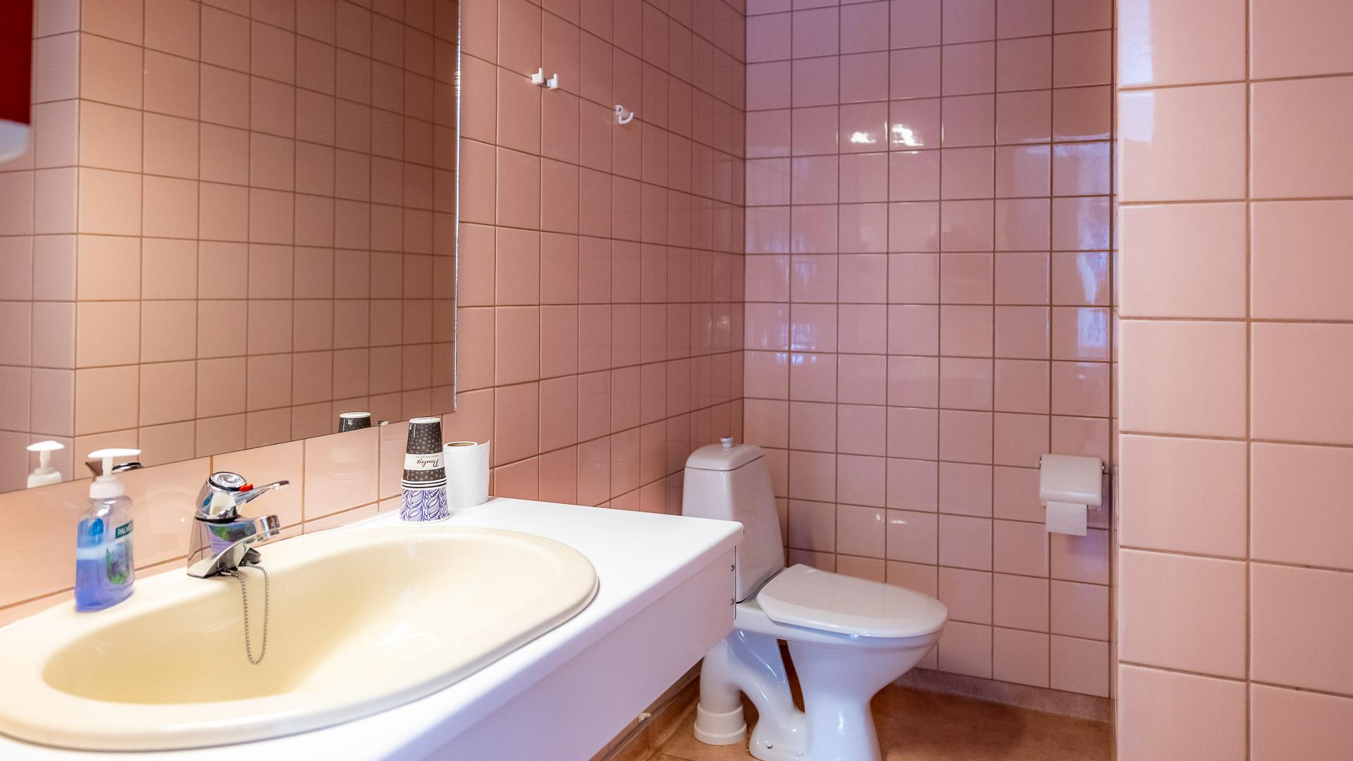 Hostelli Kuninkaanlähde Huone #1 WC