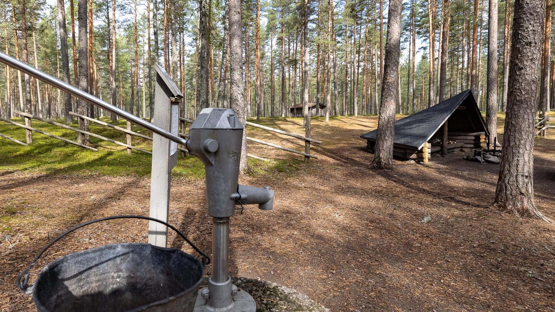 Ruskalaavu kaivo Hämeenkangas Jämijärvi