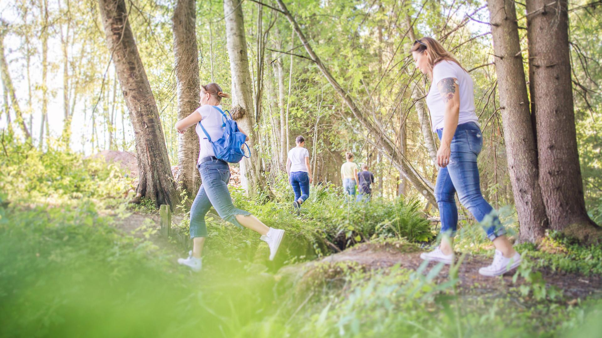 Visit Tampere Korsuretket Patikointi Hiking Forest Nature Laura Vanzo 10