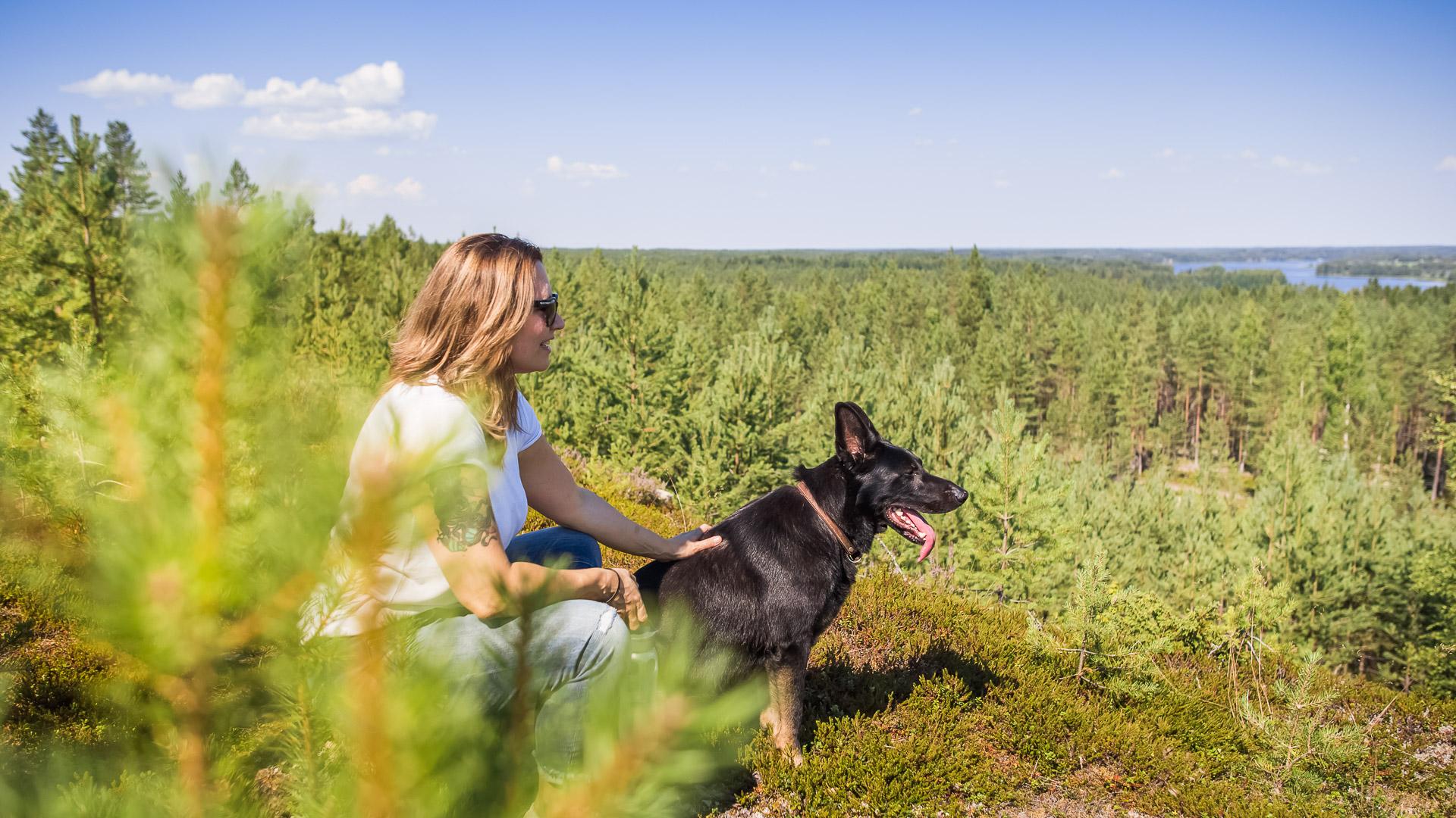 Visit Tampere Korsuretket Patikointi Hiking Forest Nature Laura Vanzo 35