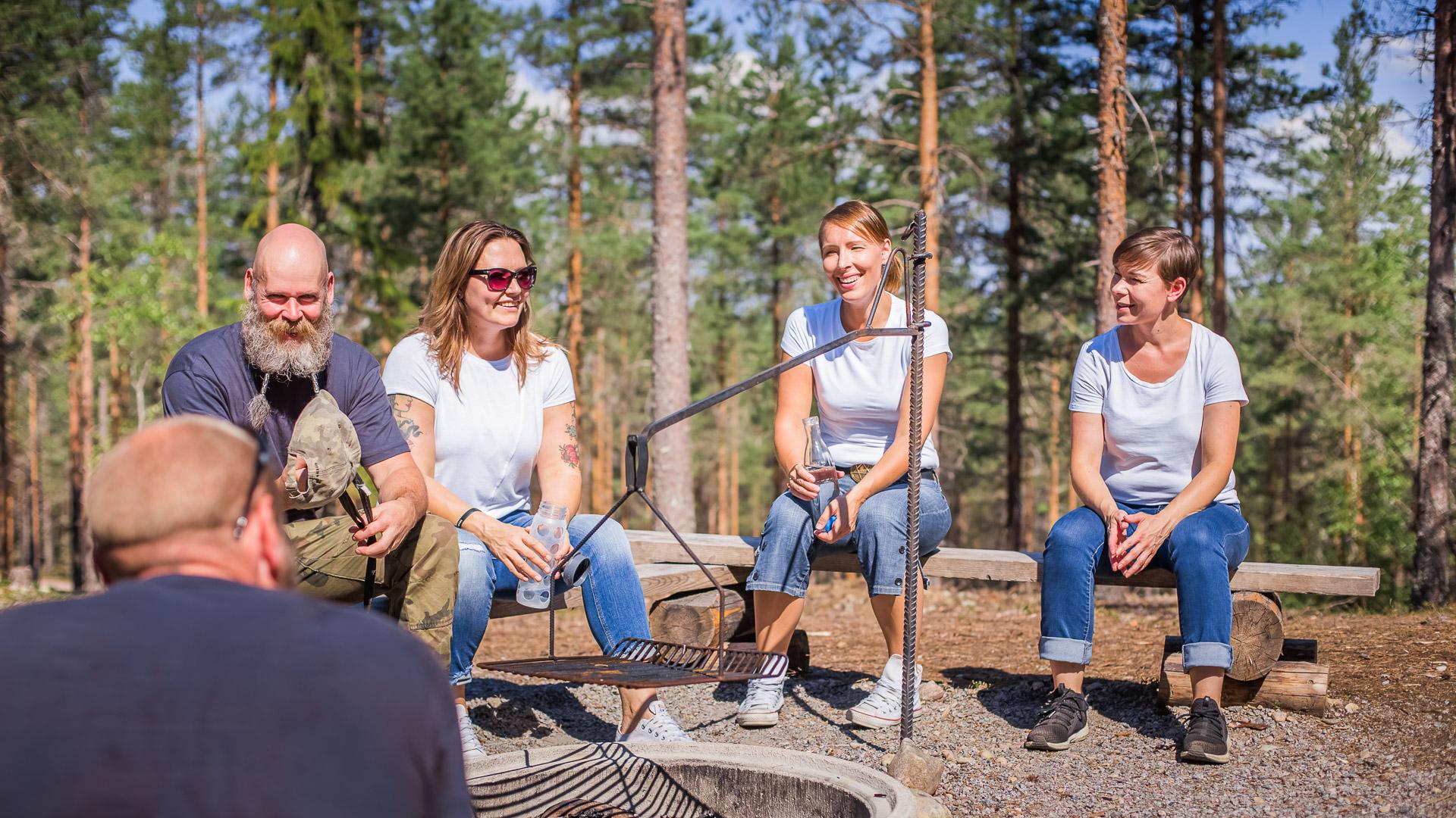 Visit Tampere Korsuretket Patikointi Lunch Picnic Nature Hiking Laura Vanzo 3